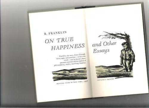 true happiness essays