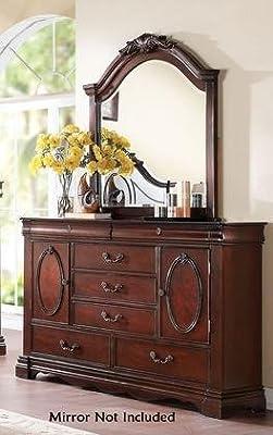 ACME Furniture 20735 Estrella Dresser, Dark Cherry, One Size