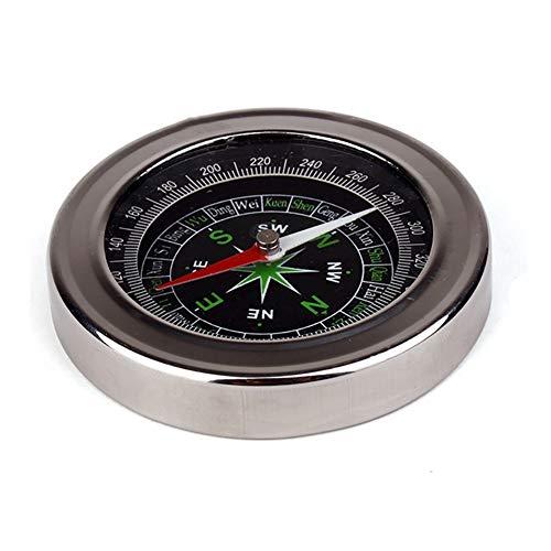 Lightclub Portable Pocket Watch Style Outdoor Camping Hiking Metal Navigation Compass - - Metal Compass Pocket