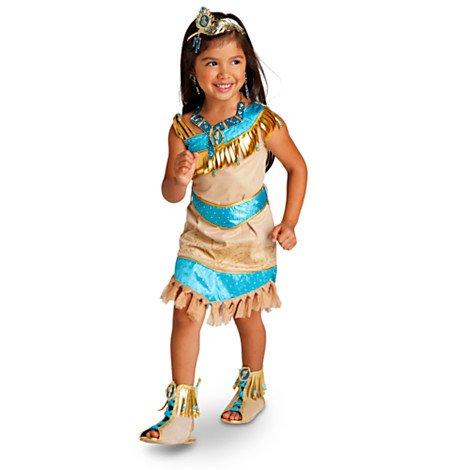 Filles Pocahontas Fancy Dress Outfit