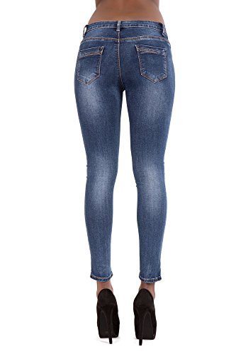 Donna Lustychic Blue Light Jeans Jeans Lustychic Oawxqa1B