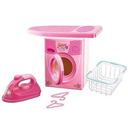 Grandi Giochi GG61103 - Set de lavadora con plancha, colores ...