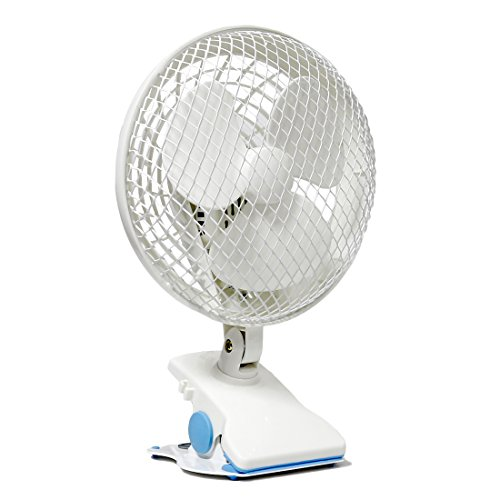 VIVOSUN-6-Portable-Desk-and-Clip-On-Fan-for-Grow-Tent-Room-2-Speed-Adjustable-Tilt-Whisper-Quiet-Operation