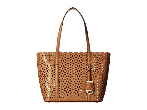 (MICHAEL Michael Kors Desi Small Travel Tote (Acorn) )