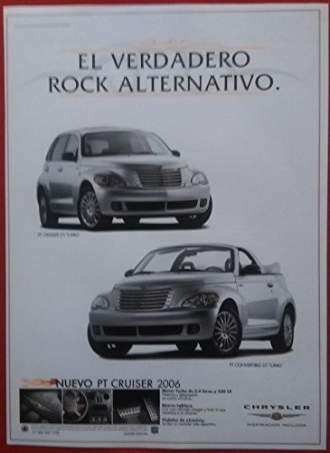 "2006 CHRYSLER PT CRUISER GT TURBO & PT CONVERTIBLE GT TURBO "" El Verdadero Rock"