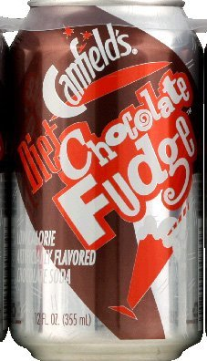 Canfield's Soda Chocolate Fudge Diet 6 cans 12.0 FO(Pack of 12) by Canfield