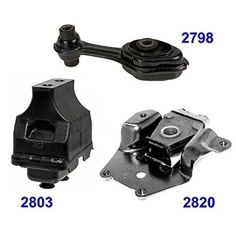 Engine Motor /& Trans Mount Auto For Cavalier Sunfire 2.2//2.3//2.4L 2798 2803 2820