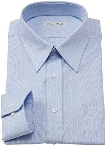 [nissen(ニッセン)] トップス・ワイシャツ 綿100%ノーアイロン長袖ワイシャツ(レギュラーカラー)