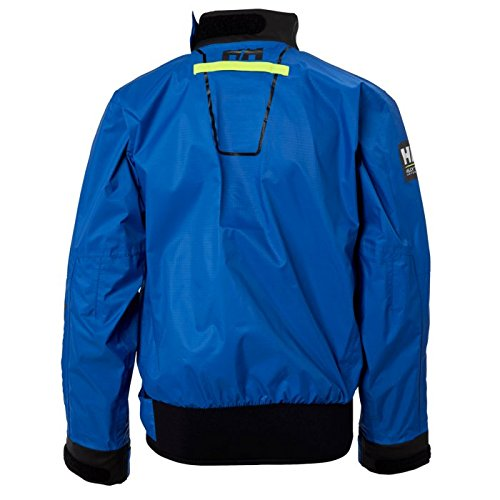 Helly Hansen Kids HP Waterproof Quick Dry Performance Smock Sailing Shirt, Olympian Blue, 8