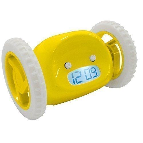 16 opinioni per Itian LCD Clocky Clock- Sveglia con rotelle, corre finché non viene