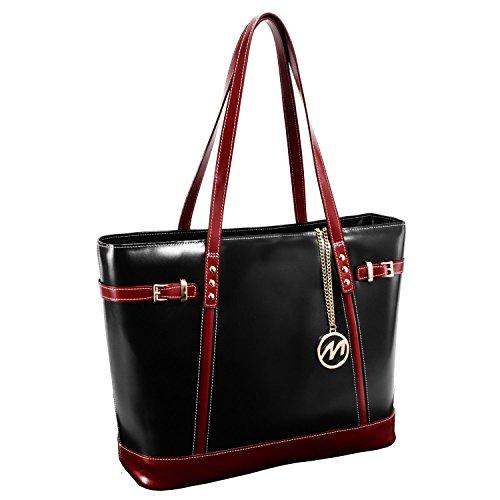 mcklein-serafina-leather-shoulder-tote-bag-business-handbag-in-black