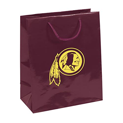 Pro Specialties Group NFL Washington Redskins Gift Bag, Burgundy/Gold, One Size ()