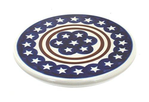 Polish Pottery Stars & Stripes Trivet ()