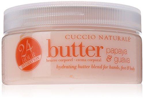 Cuccio Nectar Butter, Papaya and Guava, 8 Ounce by Cuccio
