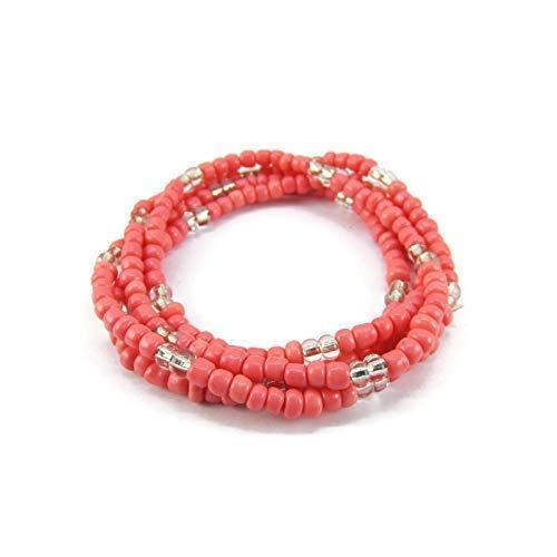 Pink Beaded Tassel Bracelet Tassel Bracelet Beaded Bracelet Pink Beaded Bracelet Seed Bead Bracelet Pink Beaded Bracelet Hot Pink