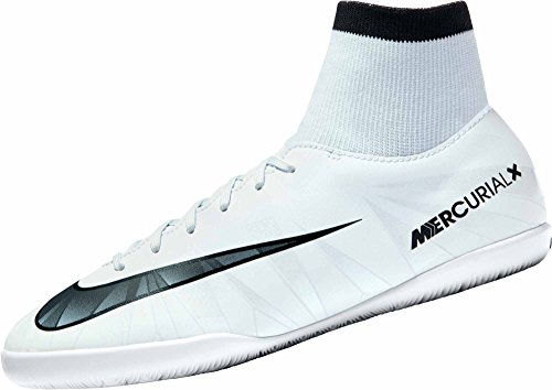 NIKE Youth MercurialX Victory VI CR7 DF Indoor Shoes [Blue Tint] (4.5Y)