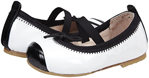 Bloch Girls' Toddler Luxury - White/Black - 25 EU