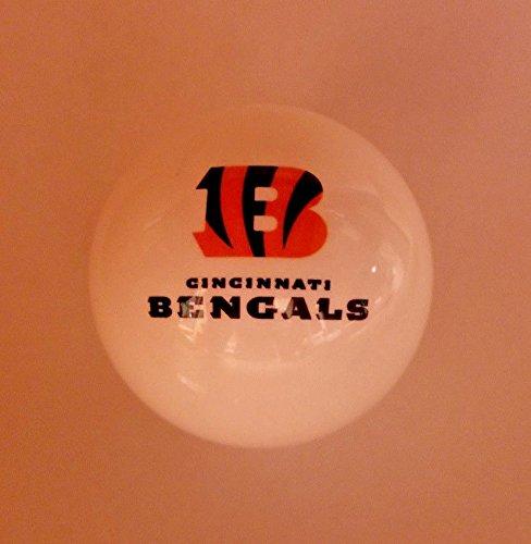 Cincinnati Bengals Shift Knob White NFL Cincinnati Bengals Nfl Billiard Balls