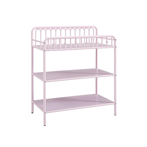 Pink Changing Table - Little Seeds Monarch Hill Ivy Metal Changing Table, Pink