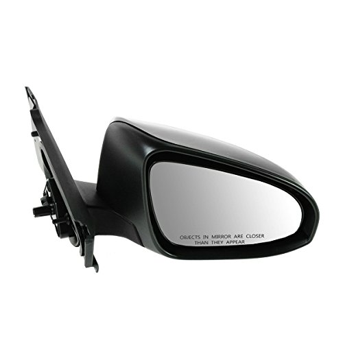 RIGHT MIRROR (PASSENGER SIDE) FOR 2012-2013 TOYOTA YARIS (MANUAL, BLACK) - 5410211 (Toyota Yaris Side Mirror compare prices)