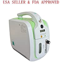 Portable Oxygen Concentrator Generator, Air Purifier Oxygen Generator, Car Adapter Portable Oxygen Machine Home Use