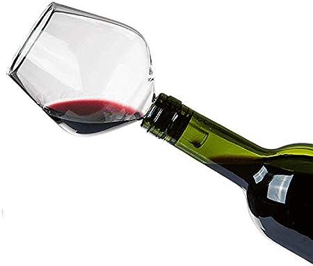 KS-11 Accesorio para botella de vino de cristal de alta calidad con junta de silicona, ideal como accesorio para copas de vino para fiestas, bodas, JGA, para fiestas, artículo de broma divertido