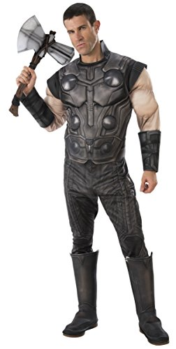 Thor Muscle Costumes - Rubie's Men's Marvel Avengers Infinity War