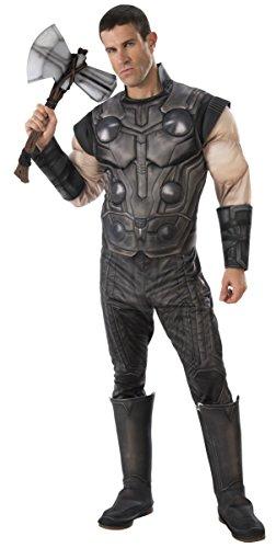 Rubie's Men's Marvel Avengers Infinity War Thor Deluxe Costume, Standard for $<!--$32.30-->