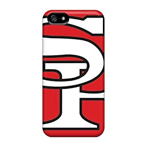 SherriFakhry Iphone 5/5s Protector Hard Phone Case Provide Private Custom Beautiful San Francisco 49ers Pattern [Lyl11776DGFS]