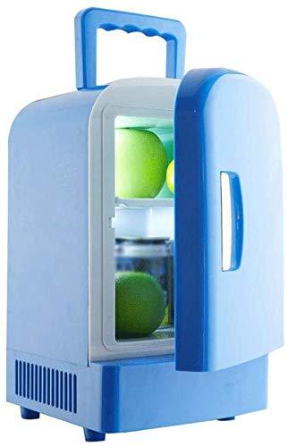 Dljyy Nevera portátil Coche de refrigerador, 4L Mini eléctrico ...