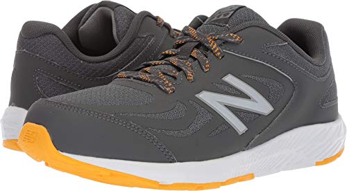 New Balance Boys' 519v1 Running Shoe, Magnet/Phantom, 5 M US Big Kid -
