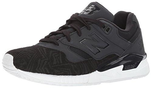 Gymnastique Femme Balance Blanc Lifestyle Leather de Noirs Chaussures New 530 Mesh Suede Les zqdz8Z
