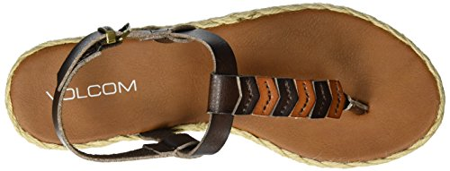 Brown Trails Volcom Gladiator Sandal Braided Women's TSZqHzO