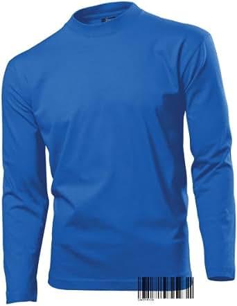 Long Sleeve Heavy T-shirt for Men - 100% Cotton - Regular Fit - Hanes Heavy-T