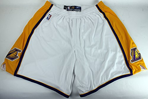 Alternate Short - Lakers Kobe Bryant Game Used 2000's Alternate Reebok Shorts Size 46 w/Provenance