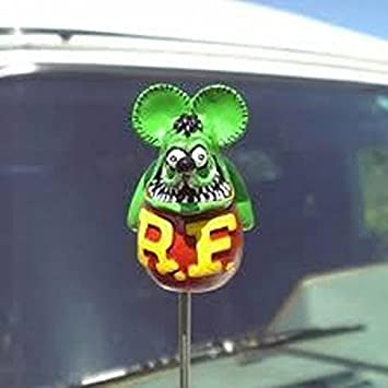 Mooneyes Rat Fink Antenna Topper RAF255GR