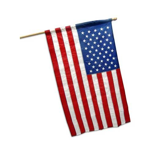 Valley Forge US Banner Flag 2.5ft x 4ft - American Flags Forge Valley