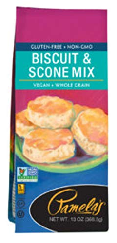 Free Wheat Mix Bread (Pamela's Gluten Free Biscuit & Scone Mix, 13 Ounce)
