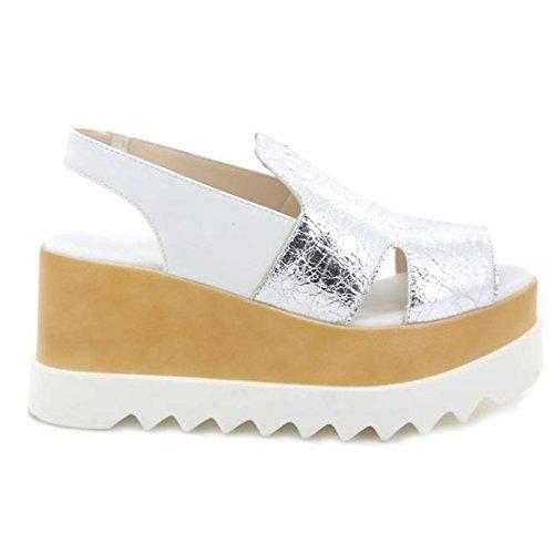 Argent Toocool À Chaussures Brides Femme 0IH0xZrq