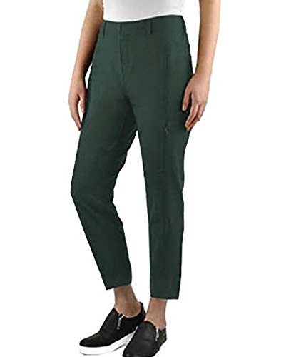 - Kirkland Signature Ladies Ankle Length Travel Pant (2, Moss Green)