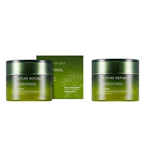 Nature-Republic-Greentinol-Cream-50-Ml-11-Anti-Wrinkle-Moisturize-Elasticity-Nutrition
