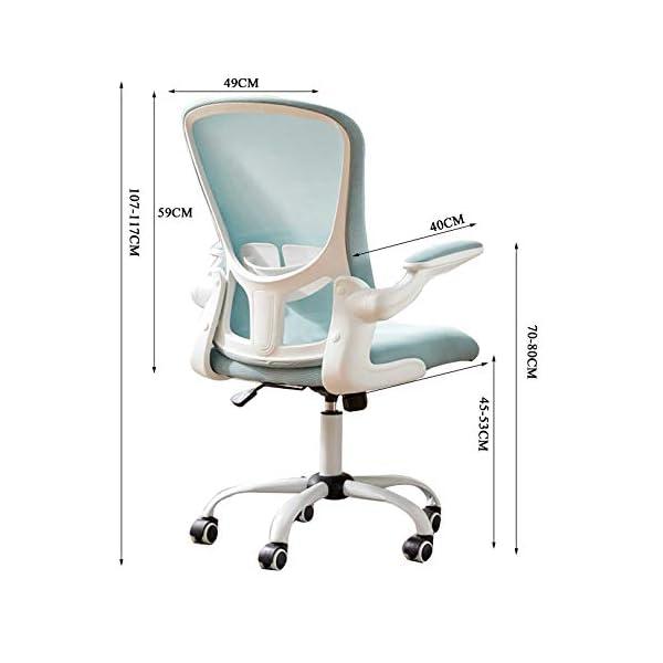 GAOPANG Chaise d'ordinateur relevable Chaise de Bureau rotative à Domicile Ergonomique Chaise de Bureau de Bureau de…