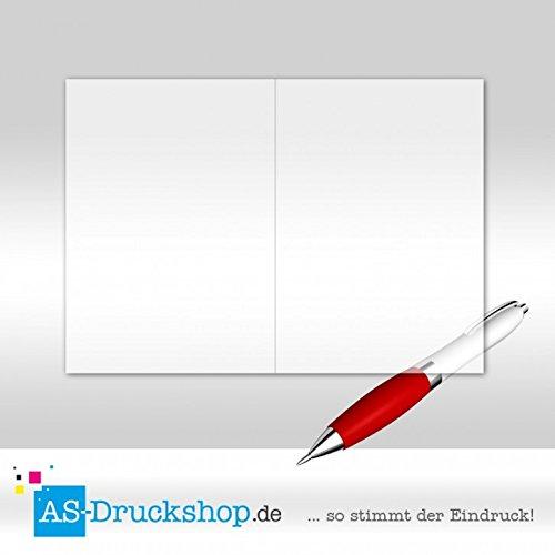 Faltkarte Doppelkarte aus Transparentpapier Transparentpapier Transparentpapier - Weiss 25 Stück DIN A5 B0794YKHWX   Eine Große Vielfalt An Modelle 2019 Neue  651346