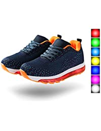 Light up Shoes Unisex Air Cushion LED Low Top Sneaker...