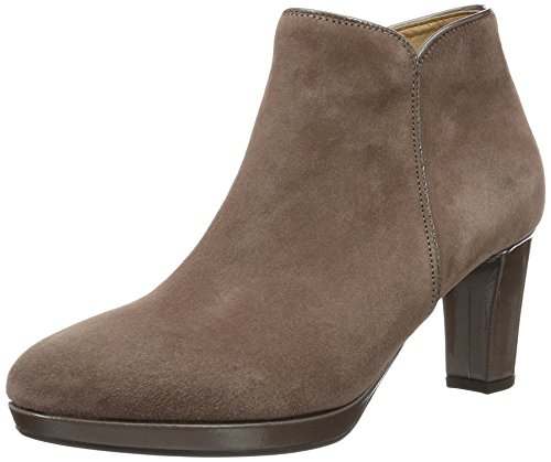 Gabor Shoes Comfort Basic, Botines para Mujer Gris (Dark-Skin Ldf.)