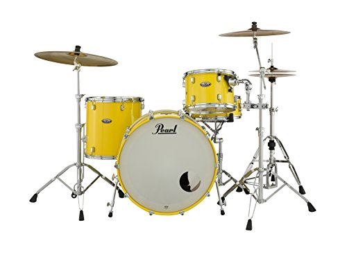(Pearl Drum Set, Solid Yellow, inch (DMP943XPC228))