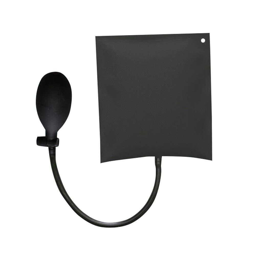 Tradtrust cuña Bomba de Aire Hinchable Bolsa de PVC Shim Puerta Ventana Lock Alignment Herramientas, Negro, Style 1