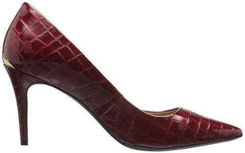 Calvin Klein Womens Gayle Pump Granato Croco Patent