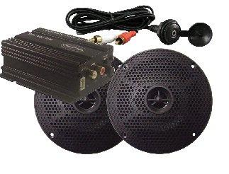 Milennia MA100PKG w/Amp, Black Speakers & Mini Plug