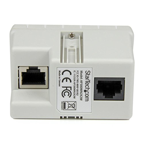 In-wall Wireless Access Point - Wireless-N - 2.4GHz 802.11b/g/n - PoE-Powered WiFi AP by StarTech (Image #2)